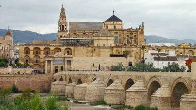 Cathedral and Roman Bridge, Córdoba, Spain