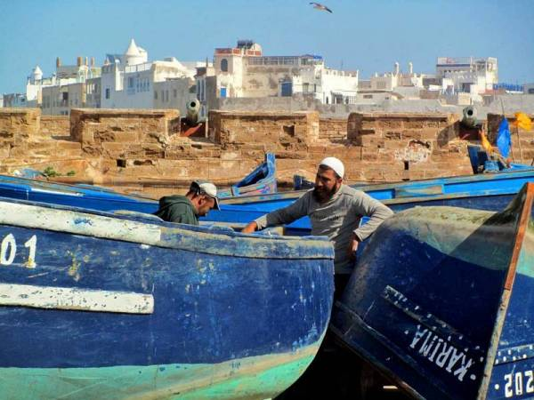 Morocco Tour, Essaouira Fishing Boats