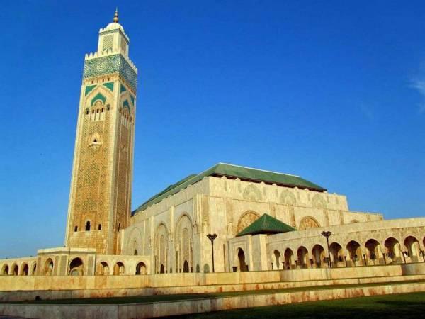 Morocco, Hassan II Mosque, Casablanca