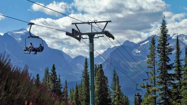 Lake Louise Chairlift