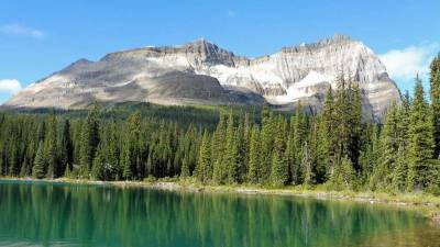 Banff Hiking Tour, Lake O'Hara, Odaray Mountain
