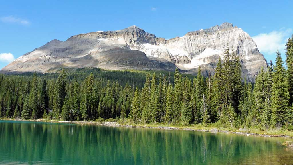 Banff Hiking Tour, Lake O'Hara, Odaray Mountain