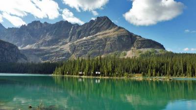 Lake O'Hara, Schaffer Mountain, Banff Hiking Tour
