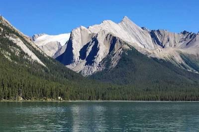 Maligne Lake Glacier, Jasper Tour