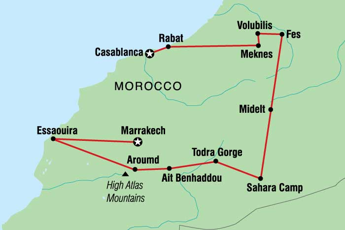 Morocco Tour to Casablanca, Marrakech and a Sahara camel trek. on berlin germany map, mecca saudi arabia map, berber people, atlas mountains, sopot poland map, tangier location on map, lagos nigeria map, cairo egypt map, dubai map, brussels belgium map, tokyo japan map, ahaggar mountains map, tunis map, beirut lebanon map, khartoum sudan map, hassan ii mosque, riyadh saudi arabia map, algiers algeria map, casablanca tramway pluie, istanbul turkey map, world map, salvador brazil map, tel aviv israel map,