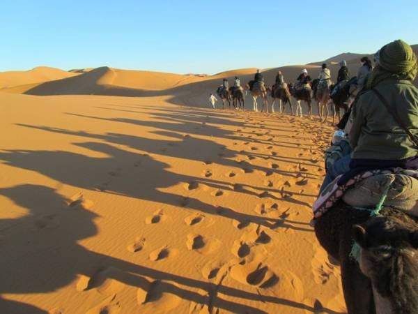 Morocco Tour, Sahara camel Trek, Merzouga