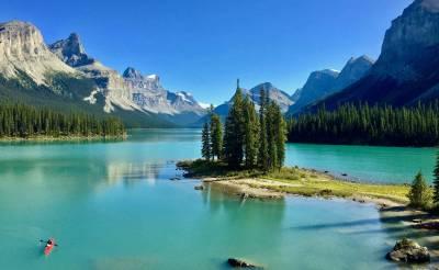 Spirit Island, Jasper National Park, Alberta