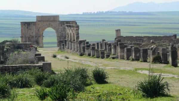 Morocco Tour, Volubilis Roman Ruins