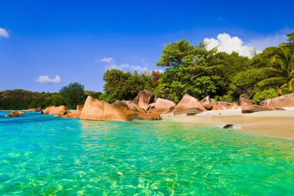Anse Lazio Beach, Praslin, Seychelles Islands