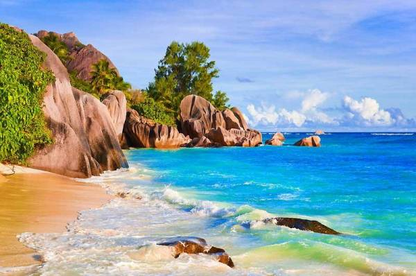 Anse Source d'Argent, La Digue, Seychelles Islands
