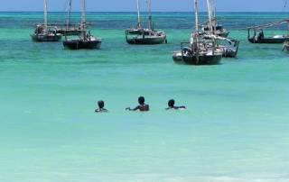 Blue Indian Ocean, Nungwi Beach, Zanzibar Tour