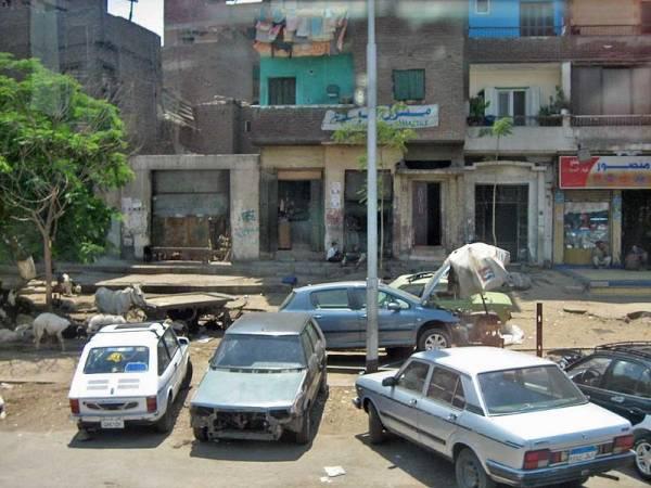 Poverty, Cairo Shore Excursion