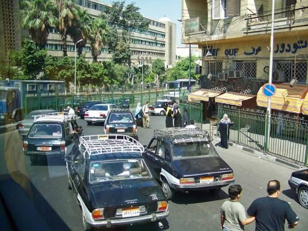 Cairo Traffic Chaos, Cairo Shore Excursion
