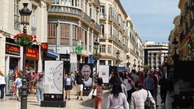 Calle Larios, Pedestrian Street, Malaga Tour