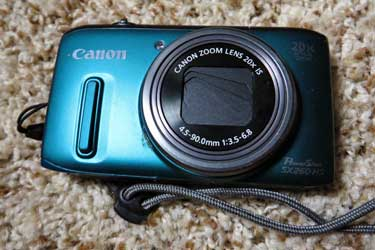Canon Digital Pocket Zoom, Travel Tips