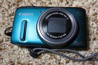 Canon Digital Pocket Zoom, Travel Tips