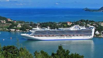 Ocean Cruising, Caribbean Princess, St Lucia