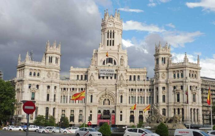 Cibeles Palace, City Hall, Madrid Tour, Spain