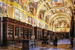 Monk's Library at El Escorial