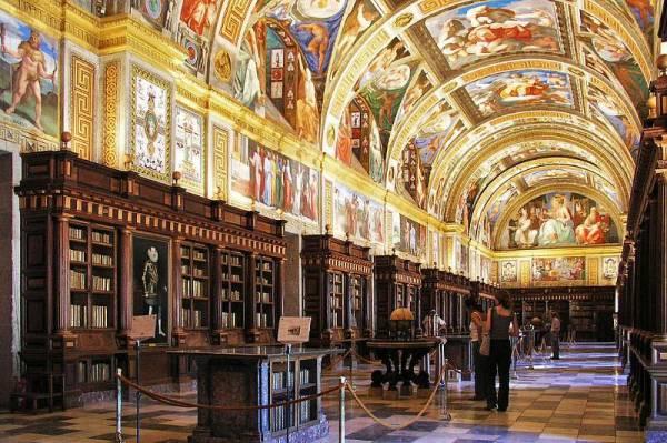 Monk's Library at El Escorial