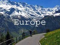 Visit Europe Title Page, Switzerland, Alps