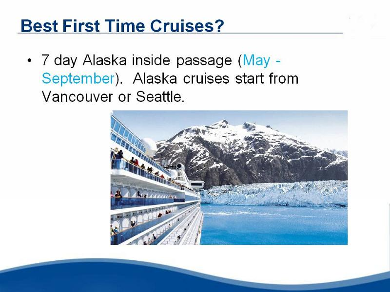 Ocean Cruising, First Time Cruising, Alaska