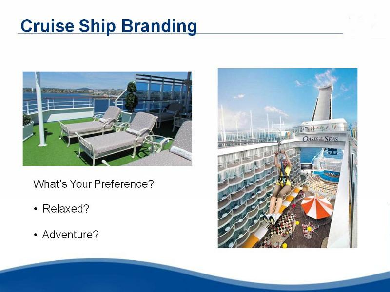 Ocean Cruising, First Time Cruising, Branding