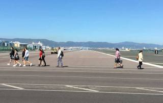 Gibraltar Airport Runway Crossing, Gibraltar Tour