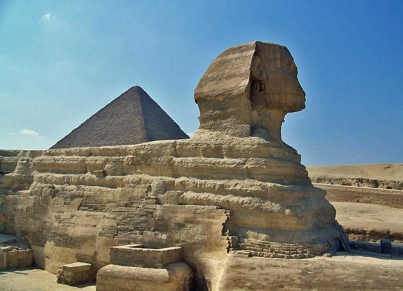 Sphinx and Great Pyramid, Cairo Shore Excursion