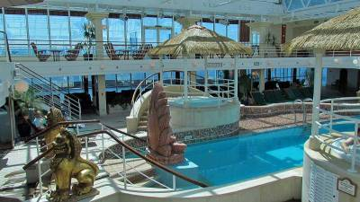 Ocean Cruising, Island Princess, Lotus Pool