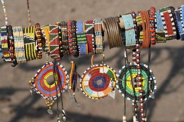 Maasai Boma Safari, Beadwork