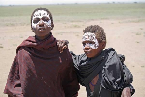 Maasai Coming of Age Ritual, Tanzania