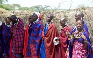 Maasai Women, Maasai Boma Safari, Tanzania