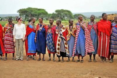 Maasai Women, Tracie, Amboseli Safari