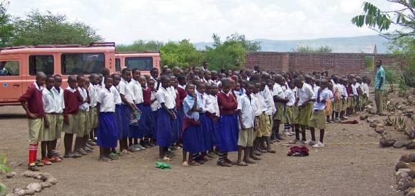 Margoala School, Lake Eyasi Safari