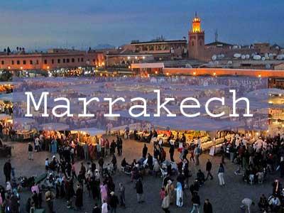 Marrakech Title Page, Djemaa el Fna