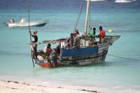 Nungwi Beach, Fishing Dhow, Zanzibar Tour
