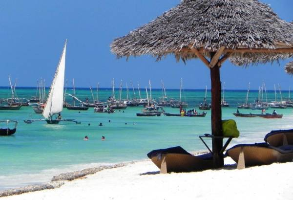 Nungwi Beach view from Double Tree Hilton, Visit Zanzibar Tour
