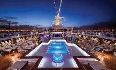 Oceania Cruises, Pool Deck