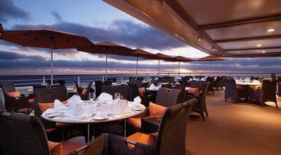 Oceania Cruises, Terrace Cafe Patio