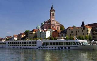 River Cruising, Danube River, Passau