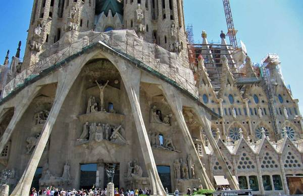 Sagrada Familia, South Entrance, Barcelona Tour