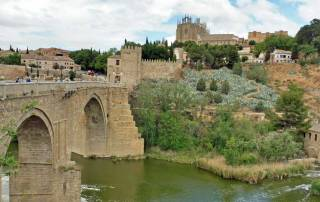 San Martin Bridge, Toledo, Madrid Tour, Spain