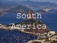 Visit South America Title Page, Brazil, Rio, Sugar Loaf