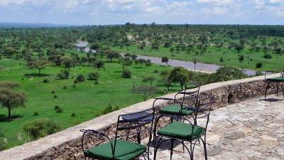 Tarangire Safari Lodge View