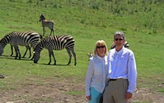 Walk among the wildlife, Ngorongoro Crater Safari