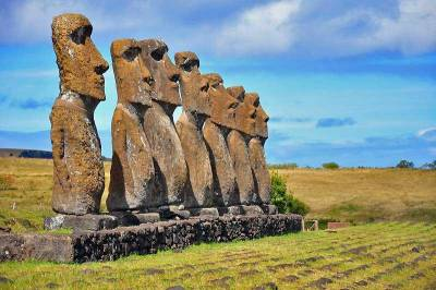 Ahu Akivi, Visit Easter Island