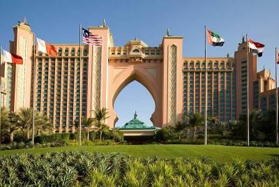 Visit Dubai, Atlantis Hotel, Palm Jumeirah