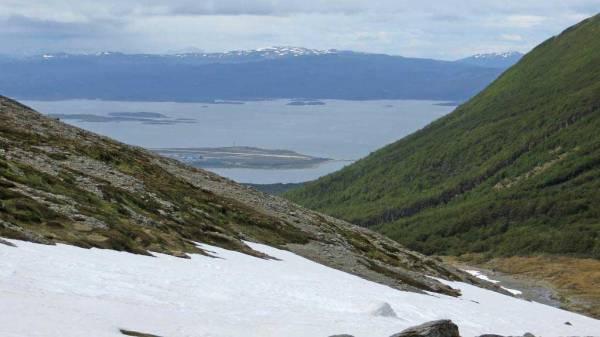 Beagle Channel from Martial Glacier Shore Excursion, Ushuaia