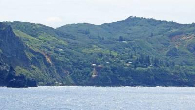 Bounty Bay, Adamstown, Pitcairn Island Visit